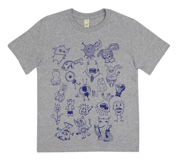 MonsterFusion T-Shirt für Kinder