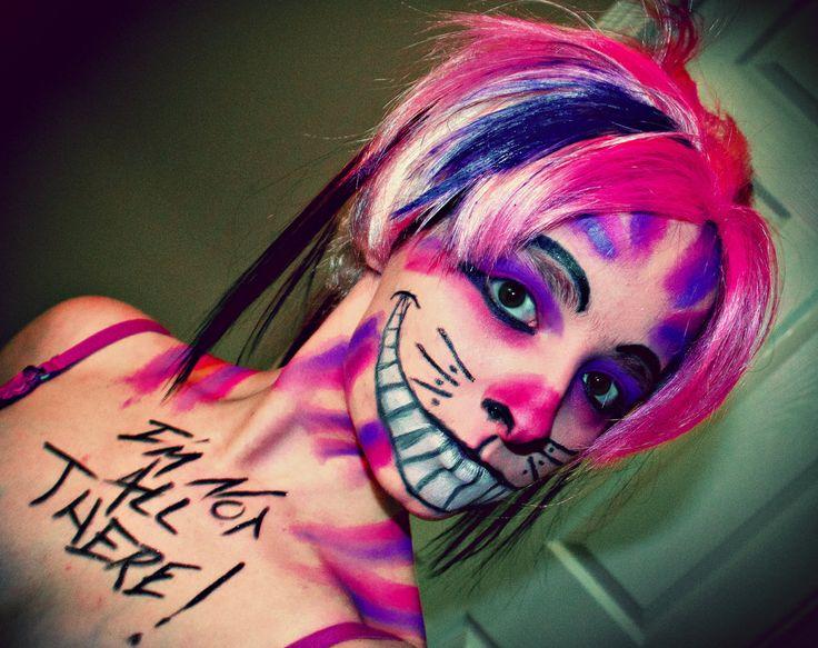 Part of my Alice in Wonderland makeup series.