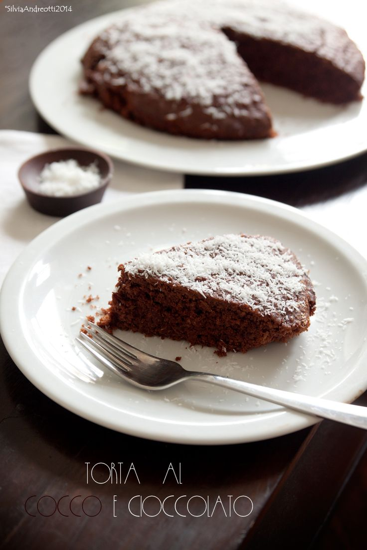 Coconut & chocolate cake (vegan)