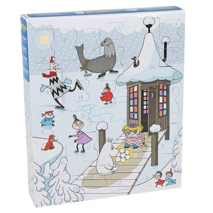 The Moomin Christmas calendar of 2016 is here! Surprise yourself with a new…