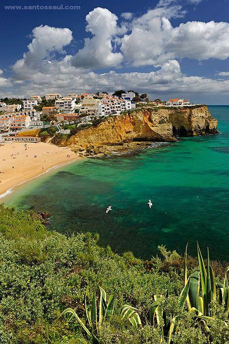 Praia do Carvoeiro. Algarve, Portugal