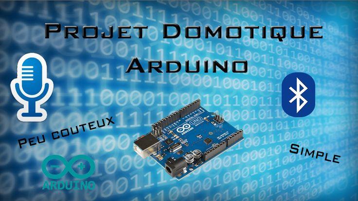 Projet Domotique Arduino Reconnaissance vocale | Simple, Peux couteux #2