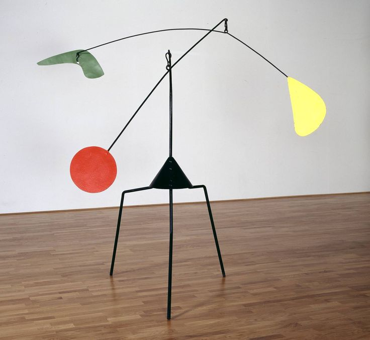 2) Alexander Calder, Untitled, 1937, Painted metal, steel and wire, 2280 x 2030 x 2560 mm, The Tate Modern Museum, London