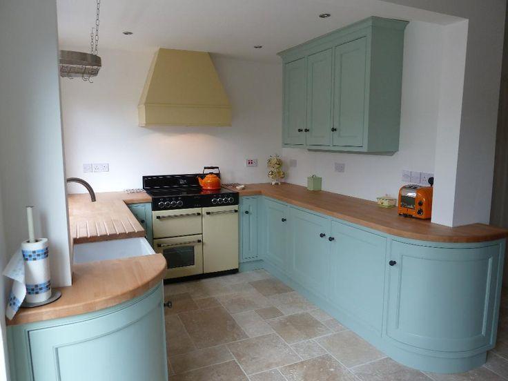 duck egg blue kitchen units - Google Search
