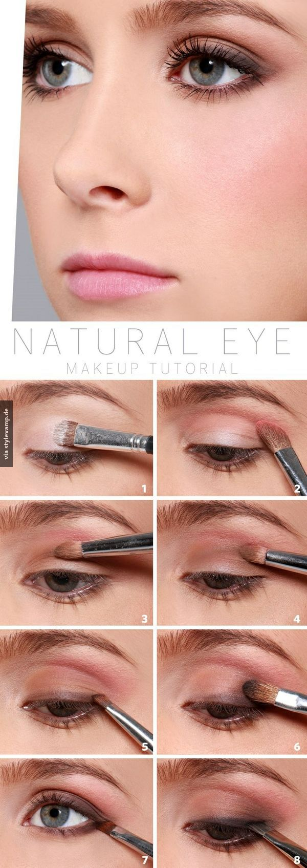 Natural Eye Make-up