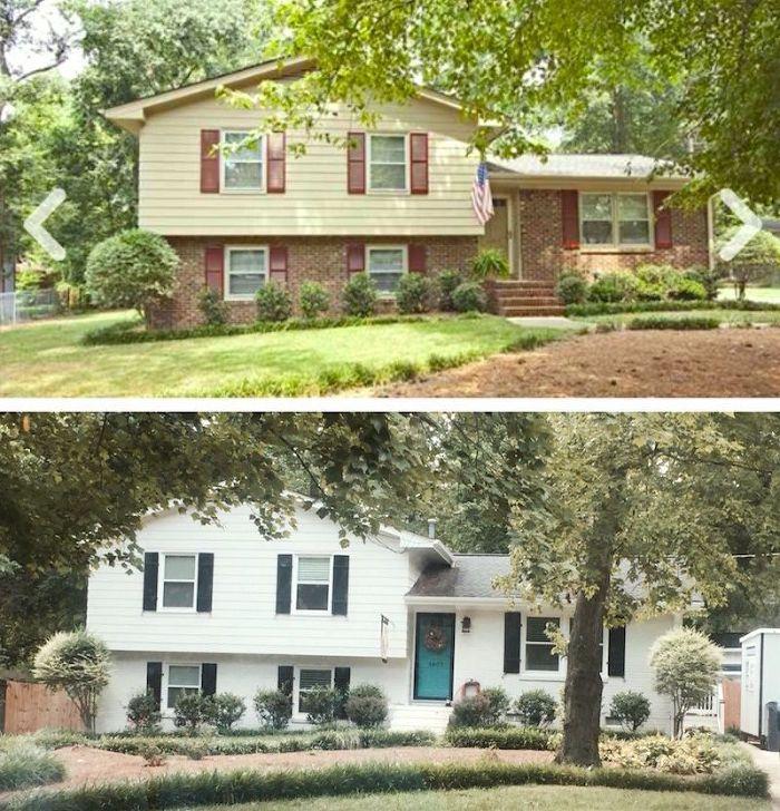 updating split level home exterior