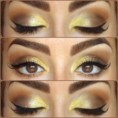 Mustard eye shadow