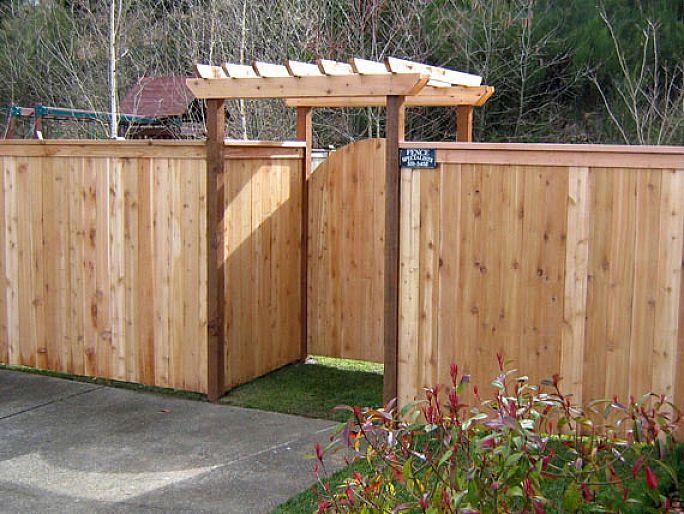 17 Best ideas about Fence Gate Design