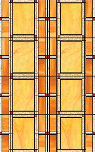DC Fix 346-0437 Arts and Crafts Stained Glass Window Film...