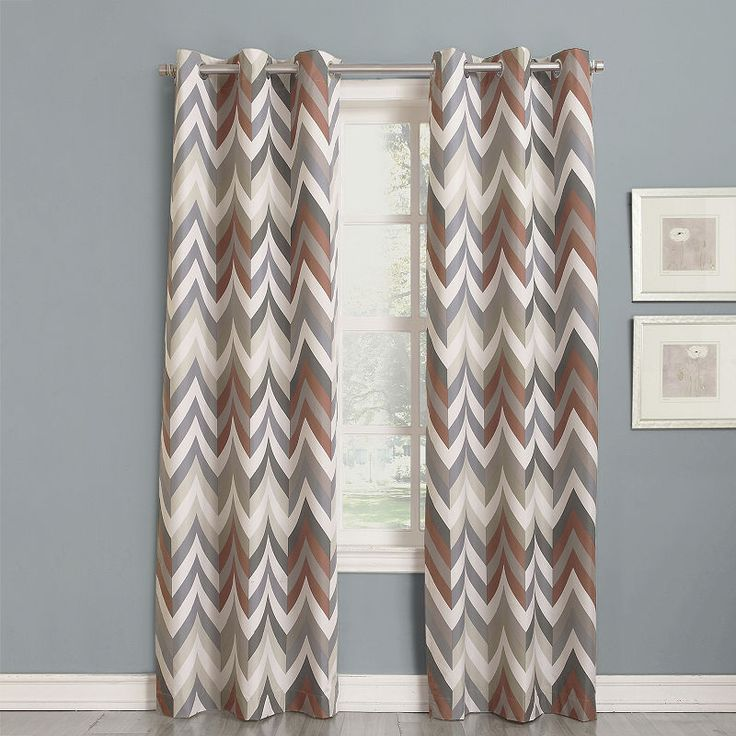 Sun Zero™ Cairo Thermal Lined Grommet-Top Curtain Panel