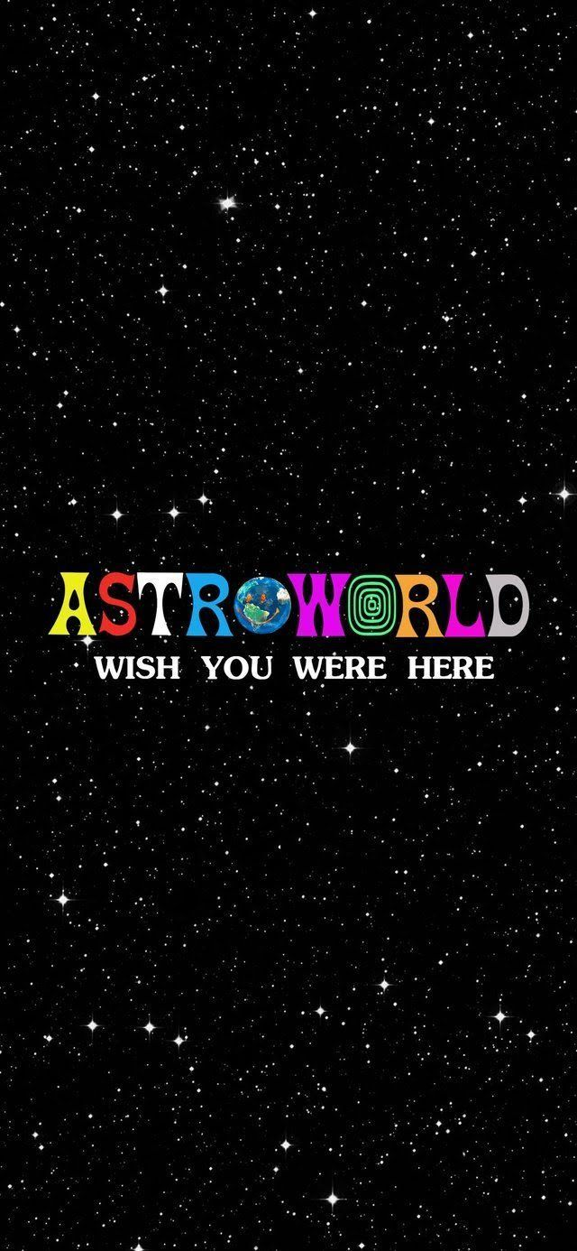 Astroworld Wallpaper For Mobile Phone Tablet Desktop Computer And Other Devices Hd And 4k In 2020 Painting Wallpaper Photo Wall Collage Travis Scott Iphone Wallpaper