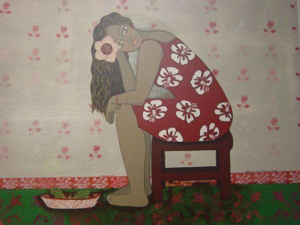 Chilean painter María Luisa Vidaurre