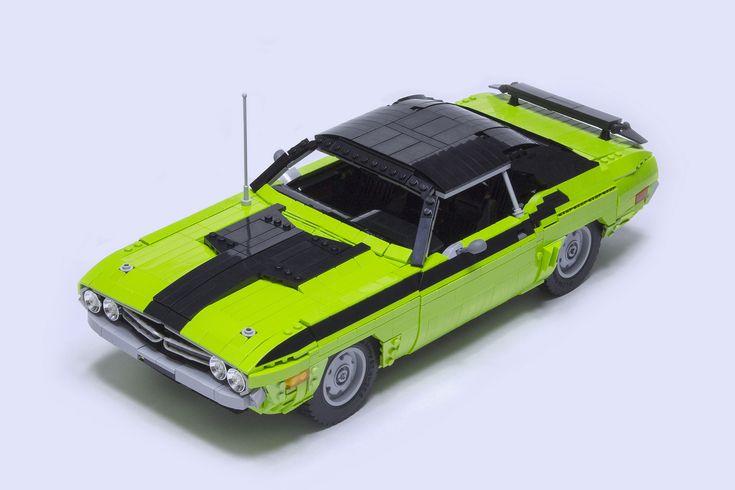 1971 Dodge Challenger R/T   by brickdater