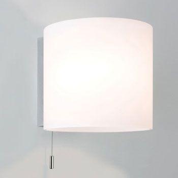 Luga IP44 Polished Chrome Bathroom Wall Light, switched wall lamp | Blog Sparks Direct