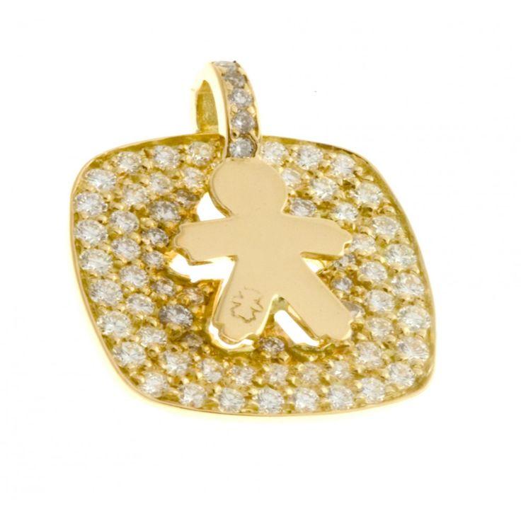 Médaille or et diamants Oscar #Loupidou