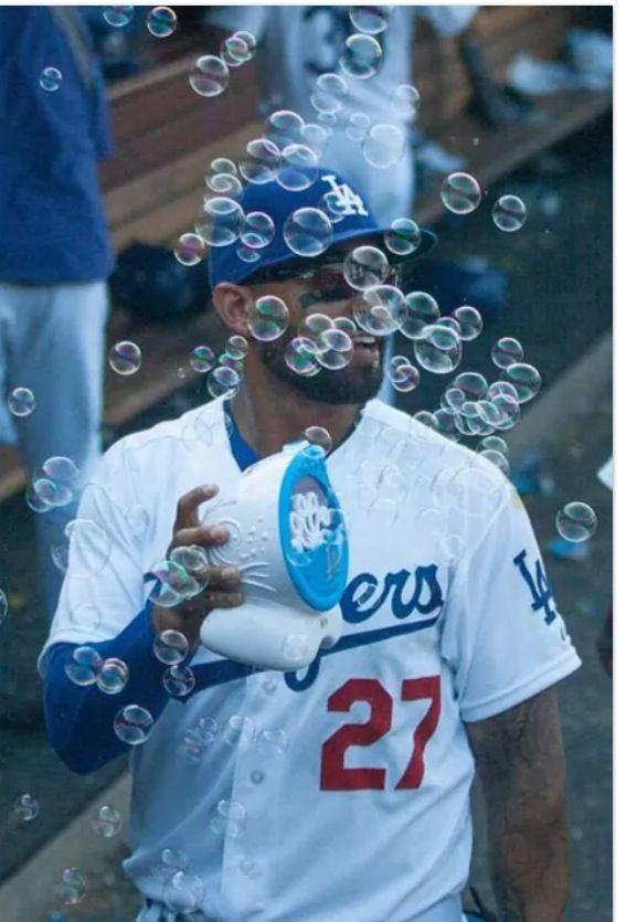 Bubble Machine at work...