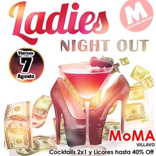 #ComoTeQuieroViernes...HOY #LadiesNight con descuento en licores hasta del -40% y 2x1 Cocteles en nuestra terraza. ...Reserva ahora mismo.