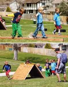 10 Obstacle Course Ideas for Kids                                                                                                                                                                                 More