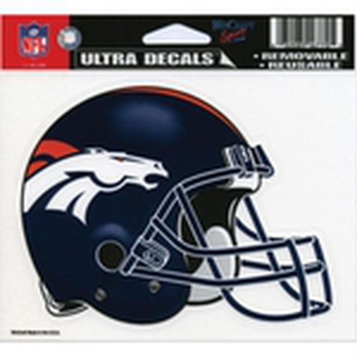 Denver Broncos - Helmet Decal