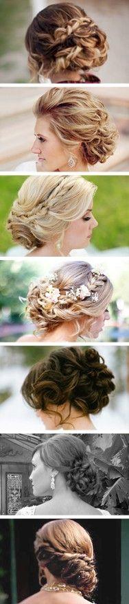 Ideas para peinados de la novia.