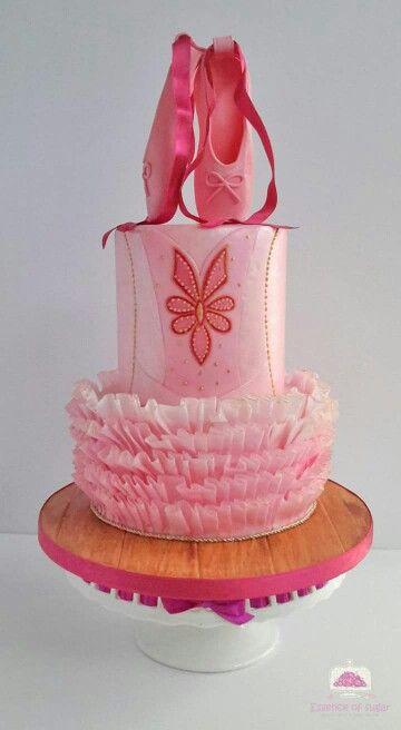Tutu ballerina cake