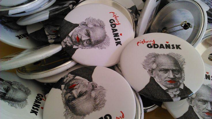"""Już są! """"Wyszukane"""" znaczki z Arturem Schopenhauerem! http://szukamy.org/artur-schopenhauer #wyszukane, #schopenhauer, #gdansk"""