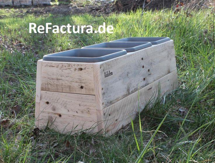 Upcycling Blumentopf, Pflanzkübel