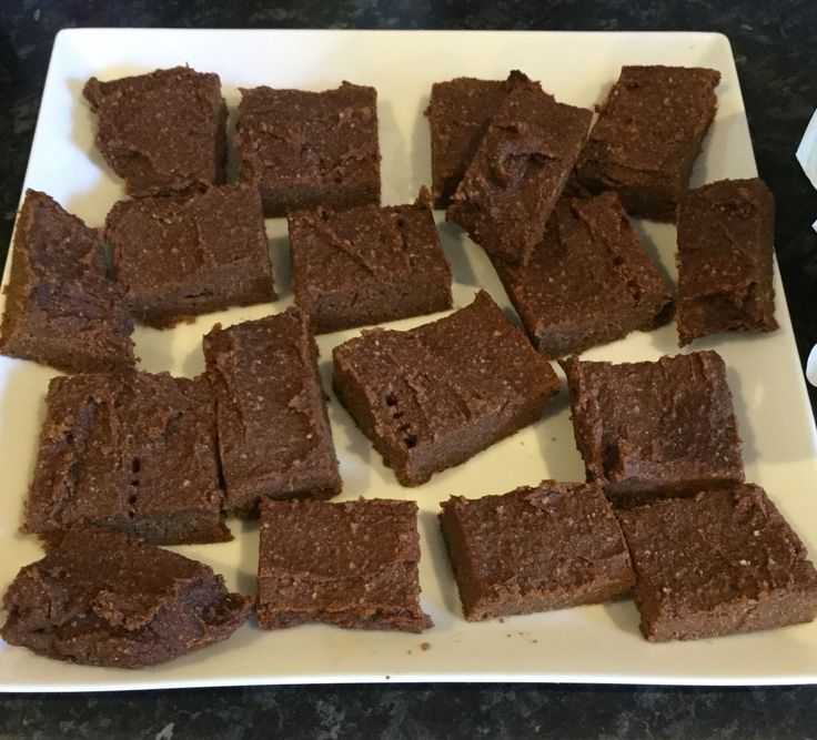 Sweet potato vegan,gluten free brownies
