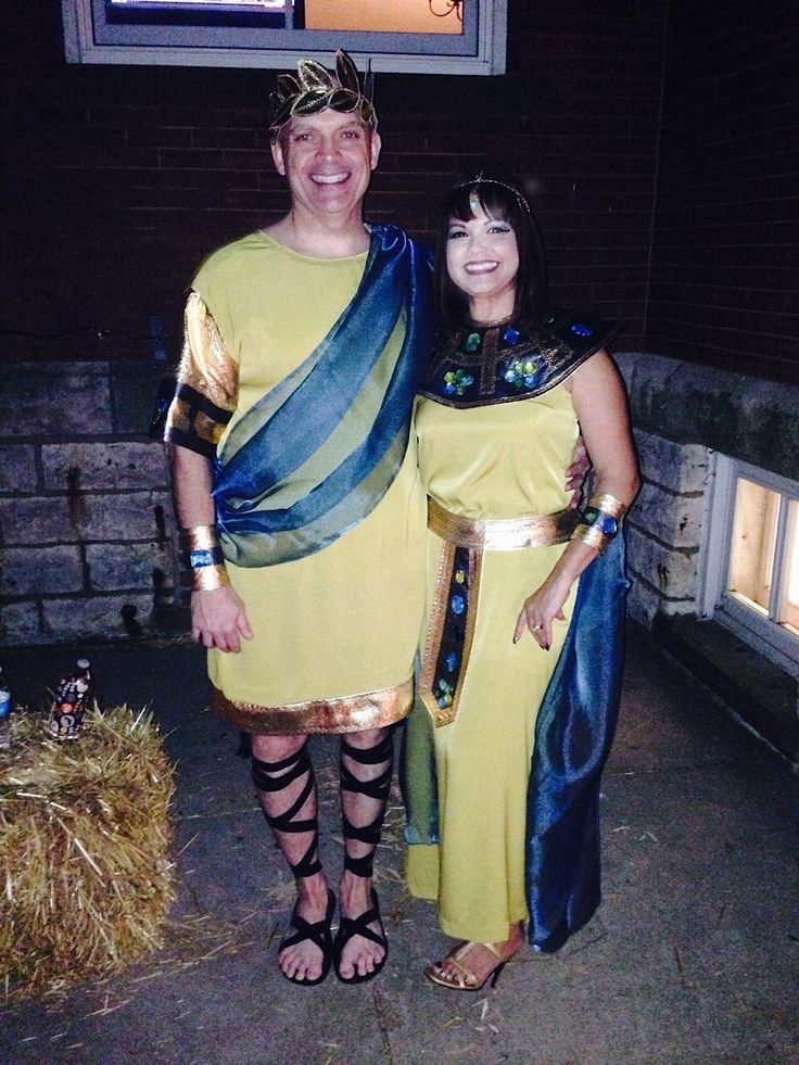 Our Halloween costumes. Cleopatra and Julius Caesar | My ...