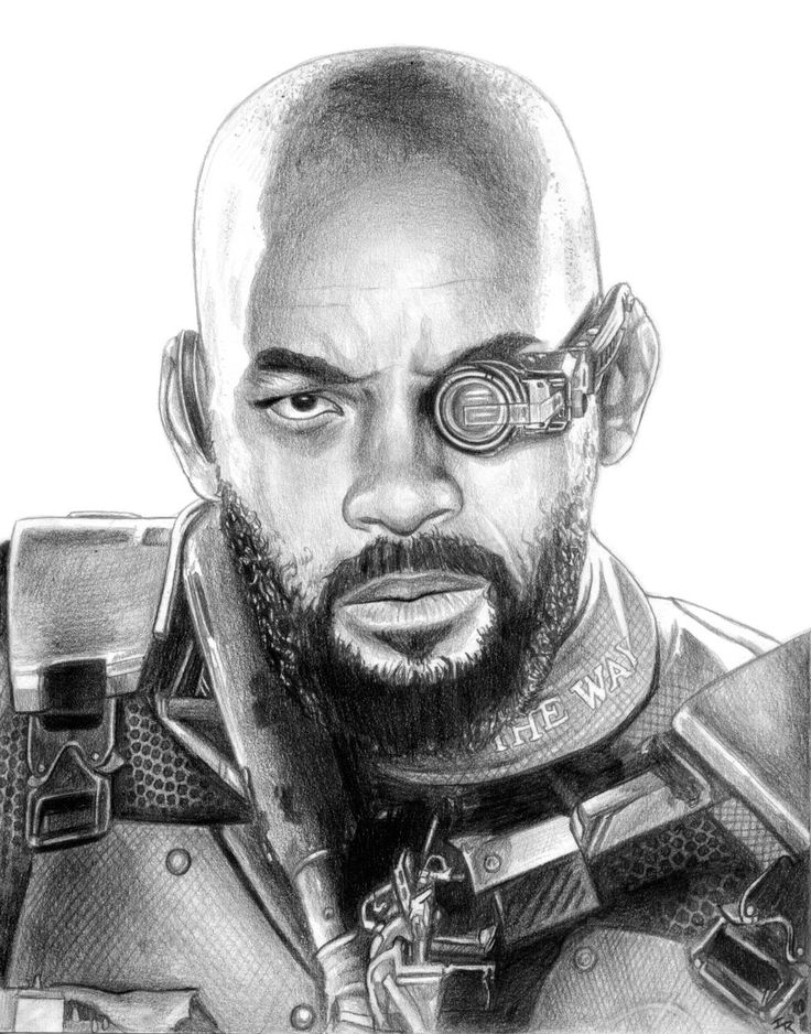 """herochan: """"Suicide Squad - Deadshot Created by Iain Reed """""""