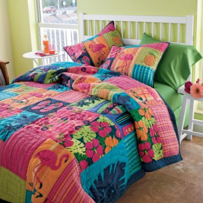 tropical flip-flop blankets | Tropical Quilts on Sale