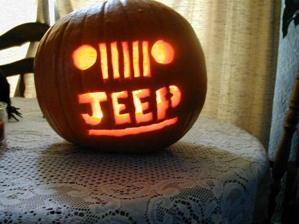 Halloween home decor 2018 jeep