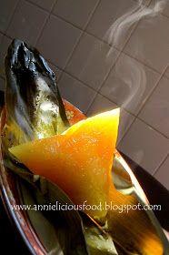 Annielicious Food: Lye Water Rice Dumplings / 鹼水粽 (aka Kee Zhang)