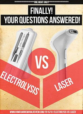 Electrolysis vs laser hair removal, which is the better method for long term hair removal? We explain the of the pros and cons of each method, when to use each.