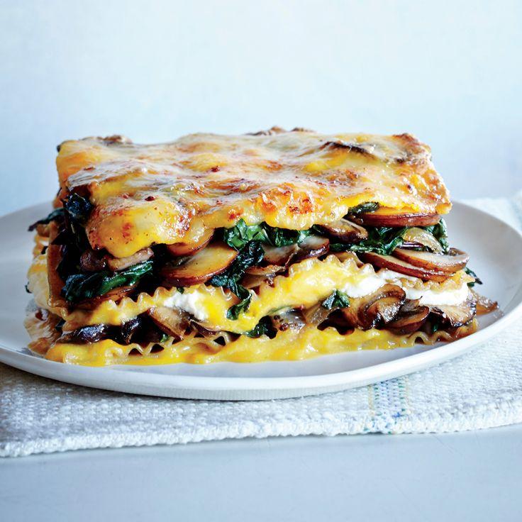Vegetable Lasagna with Butternut Béchamel - Healthy Lasagna Recipes - Cooking Light