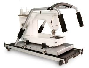 """Grace, Quilting, Frame, Carriage, Upgrade, Platform, Older, GMQ, Newer, Little, Gracie, II, allow, up, 18"""", Long, arm, Machines, Tin, Lizzie, Queen, Quilter"""