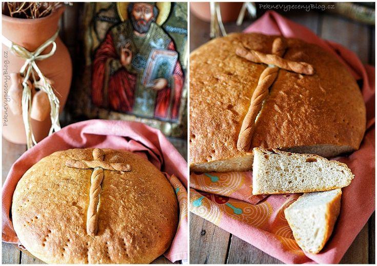 Velikonoční balkánský bramborovo - špaldový chléb (Balkan Easter bread) www.peknevypecenyblog.cz