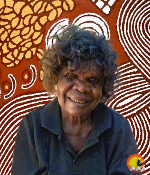 Australian Aboriginal Artist Narpula Scobie Napurrula #aboriginalart #aboriginalpainting #australianart