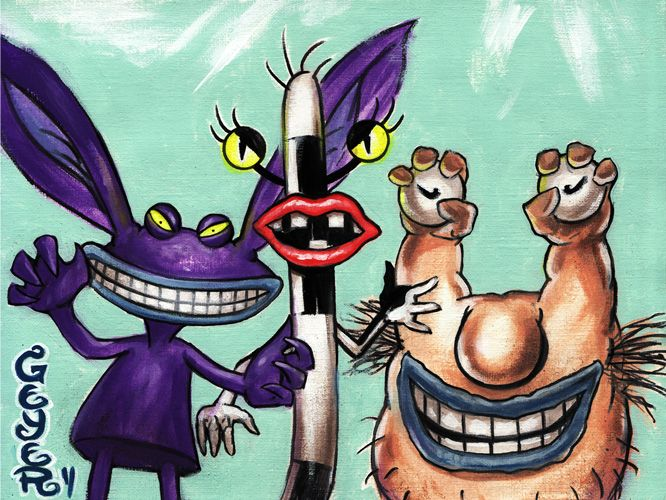 Ahh Real Monsters <3