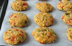 Συνταγή για μπιφτέκια λαχανικών χωρίς λάδι!