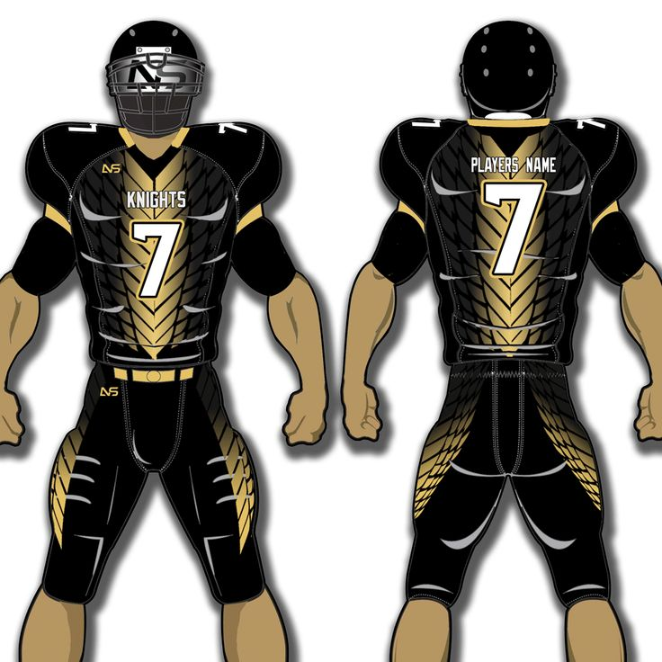 Custom Adult Football Uniforms Get your team suited up for a winning season at For The Love. We work to outfit football teams around the world in quality and affordable customized football uniforms. Custom Adult Football Uniforms​ Home Page