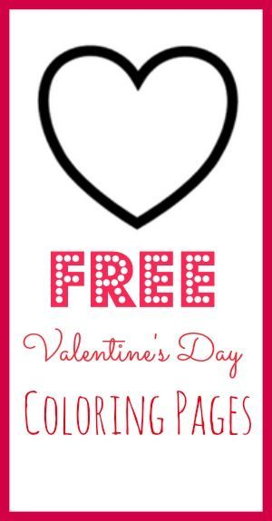 free valentines day coloring pages free coloring pages