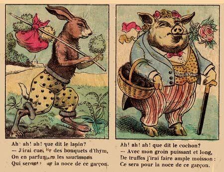 images d'épinal   les images d'Epinal - cartoons et bande dessinée