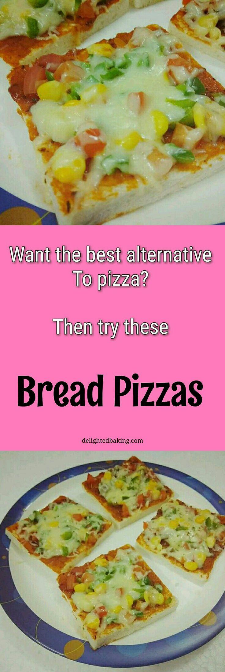 Best alternative to Pizza - Bread Pizza. Easy bread pizza. Bread snacks. Quick party snacks. Quick bread pizza. Veg bread pizza. Snacks for kids. Snacks recipes.