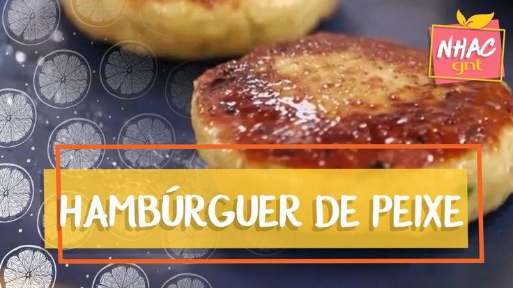 Hambúrguer de peixe   Rita Lobo   Cozinha Prática