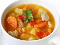 Sopa de Pollo para bebés y niños ~ Remediosnatural.com