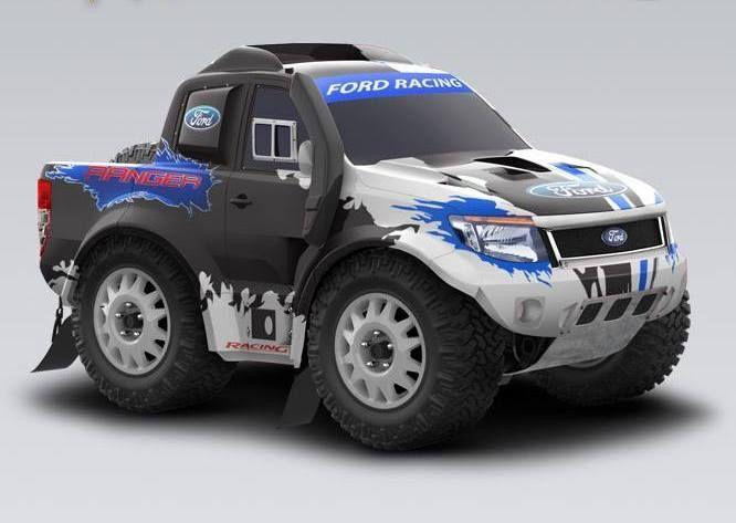 2014 Ford Ranger Dakar [T6]