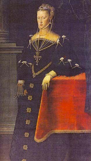 Мор Антонис (ок. 1519, Утрехт — между 1576 и 1578, Антверпен) — Portrait of Mary of Austria, wife of Maximilian II.(1551, Прадо, Мадрид)