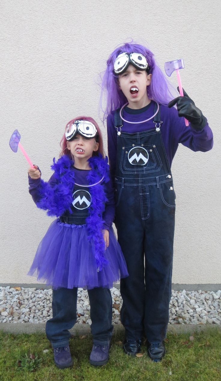 32 best Purple Minion Costume Ideas images on Pinterest ...
