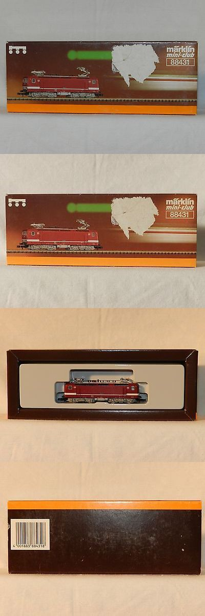 Locomotives 96856: Marklin Mini-Club 88431 Electric Locomotive Class - Nib -> BUY IT NOW ONLY: $149.99 on eBay!